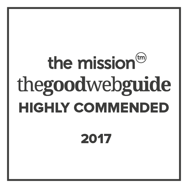 the good web guide awards highly commended 2017