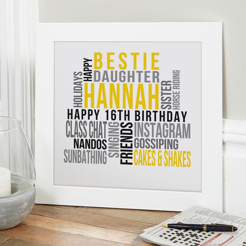 16th Birthday Gift Ideas For Girls