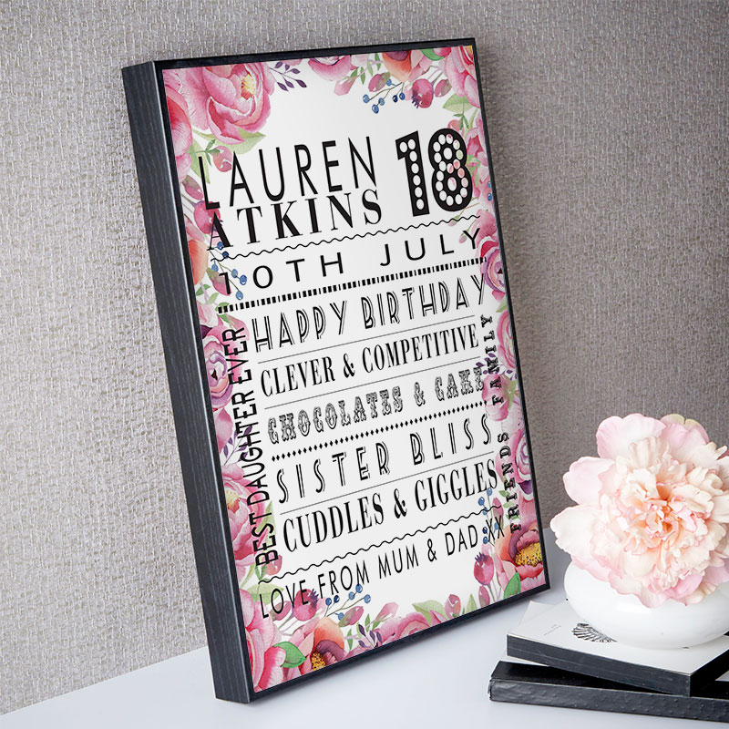 Personalised 18th Birthday Gifts
