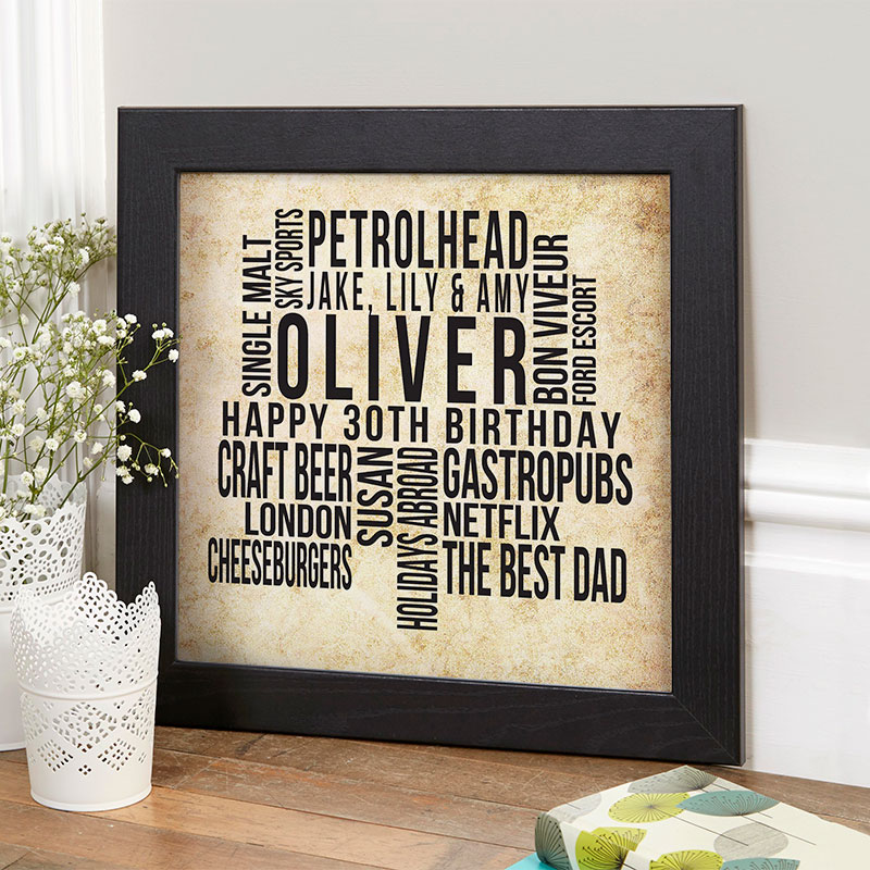 30th Birthday Gifts Present Ideas For Him
