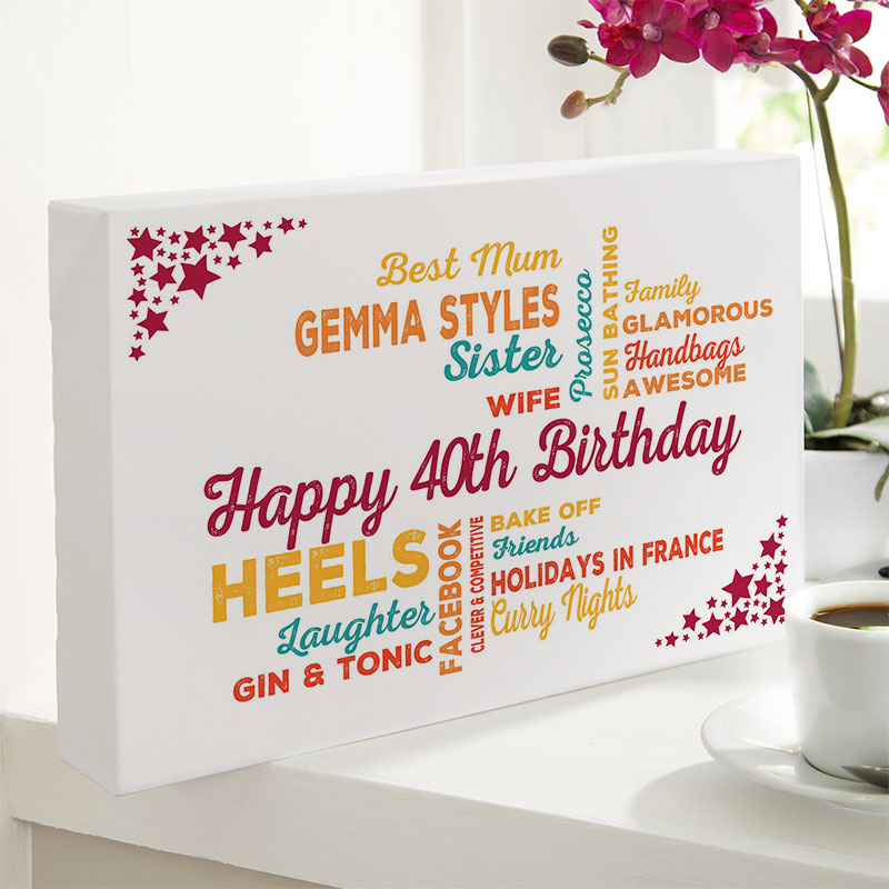 gift ideas for 40 year old woman birthday