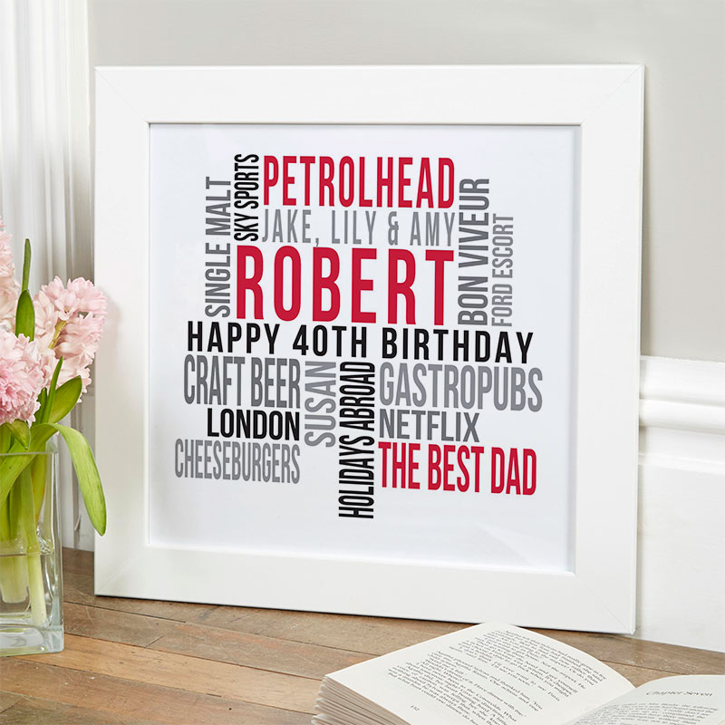 40th Birthday Gifts Present Ideas For Him