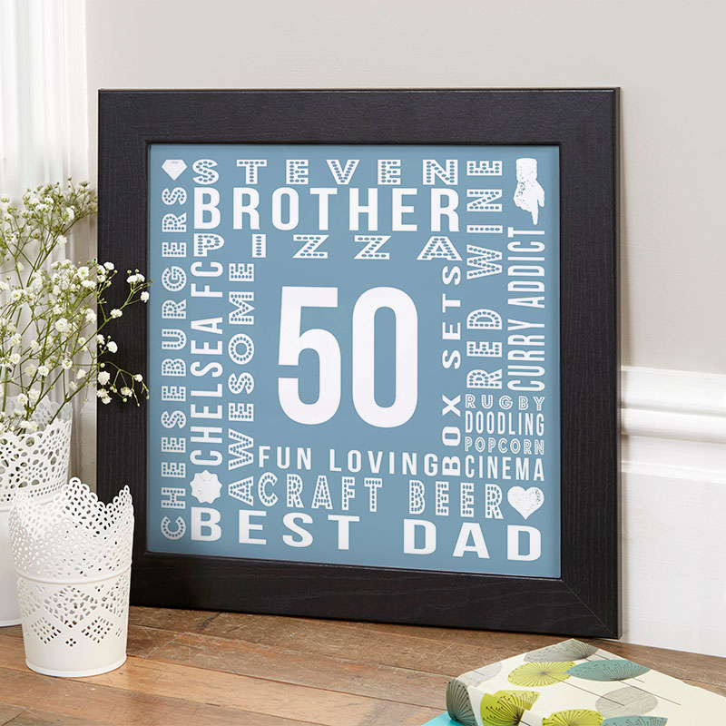 50th Birthday Gifts Present Ideas For Men