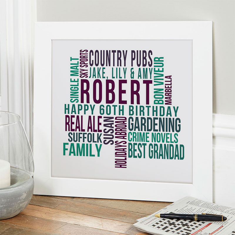 60th Birthday Gifts Present Ideas For Him