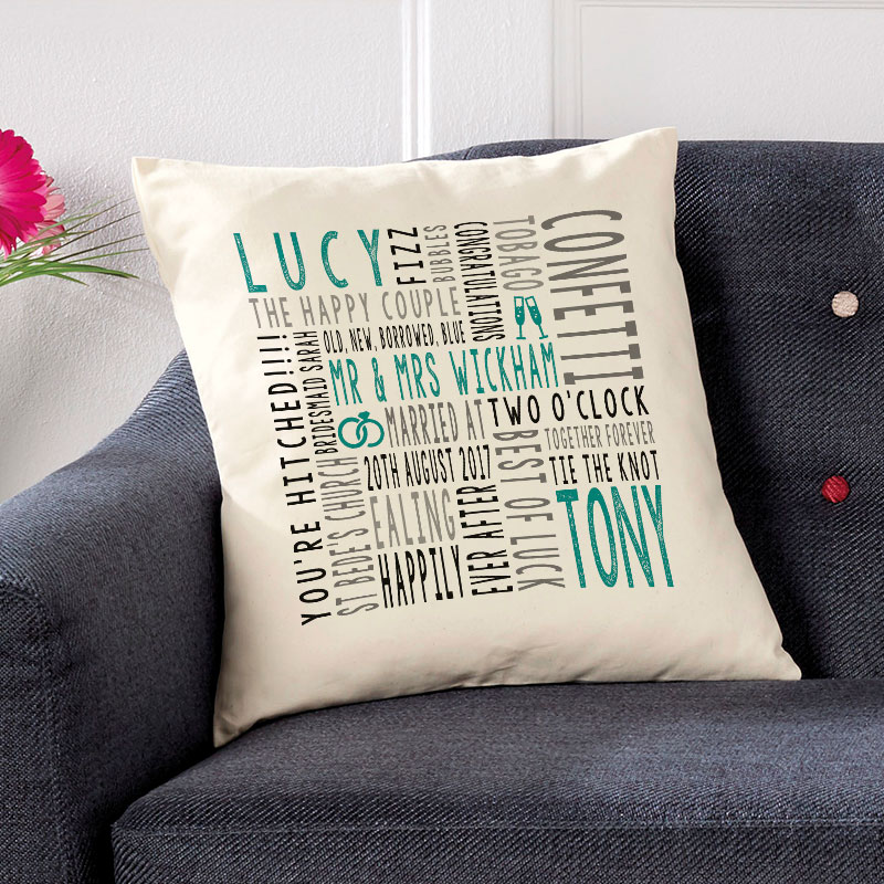 cushion for wedding gift