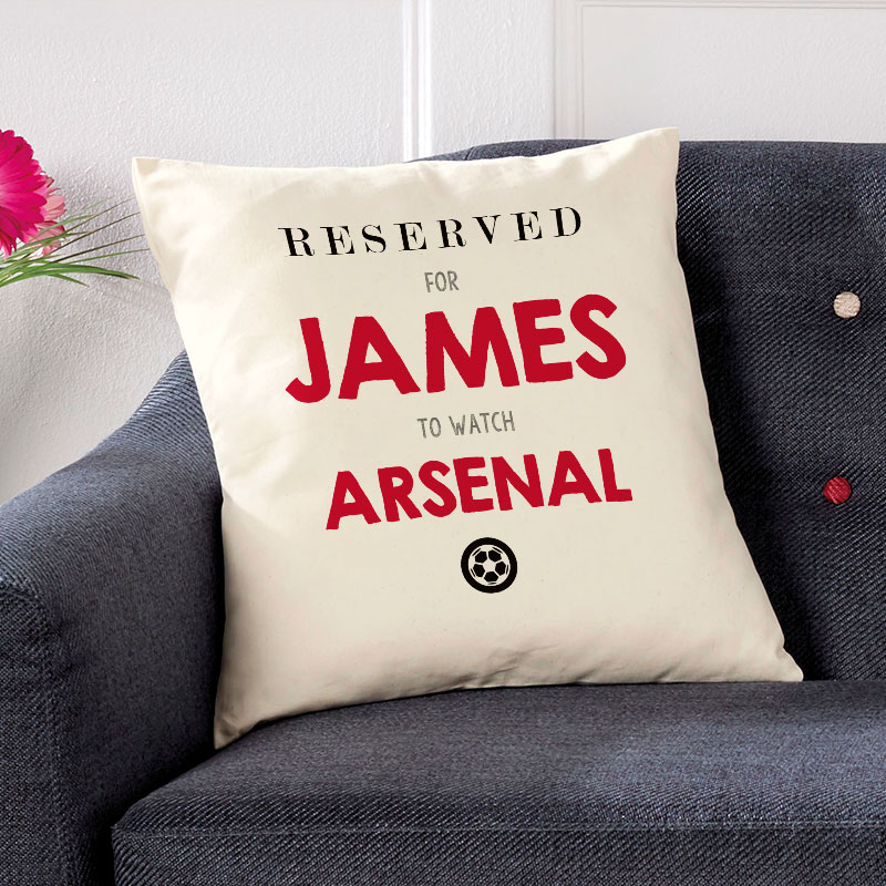 reserved for personalised cushion