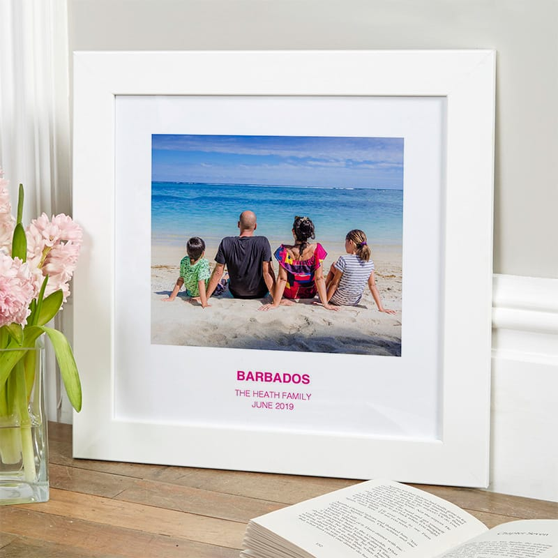 personalised photo gift family