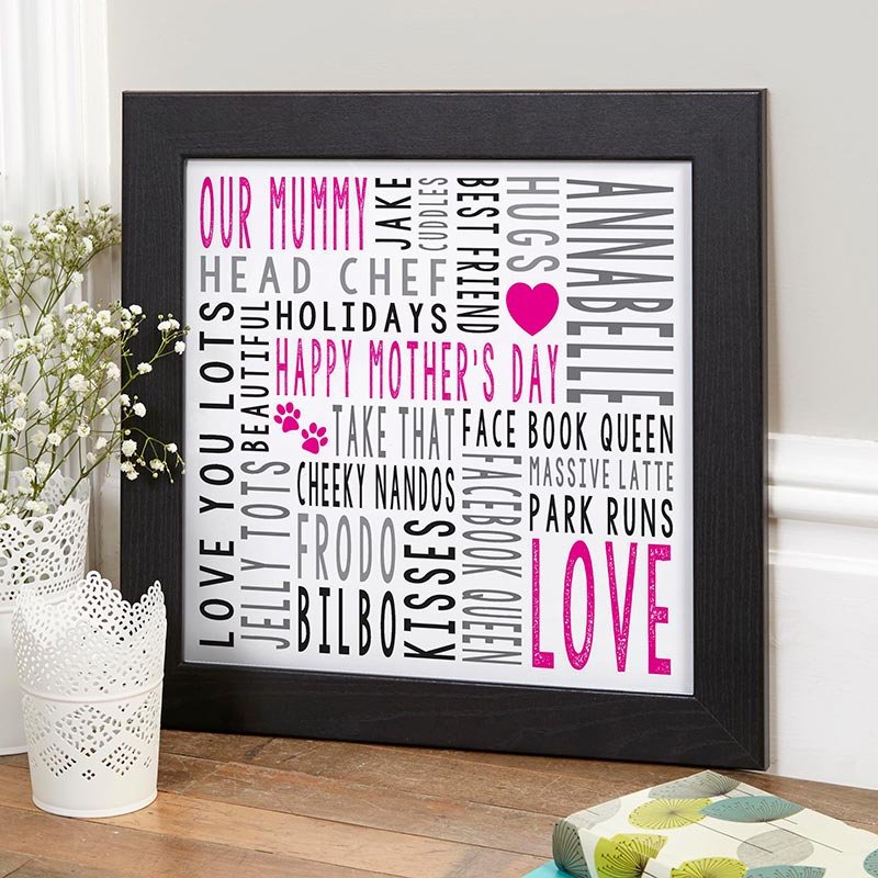 wall art for mothers day print
