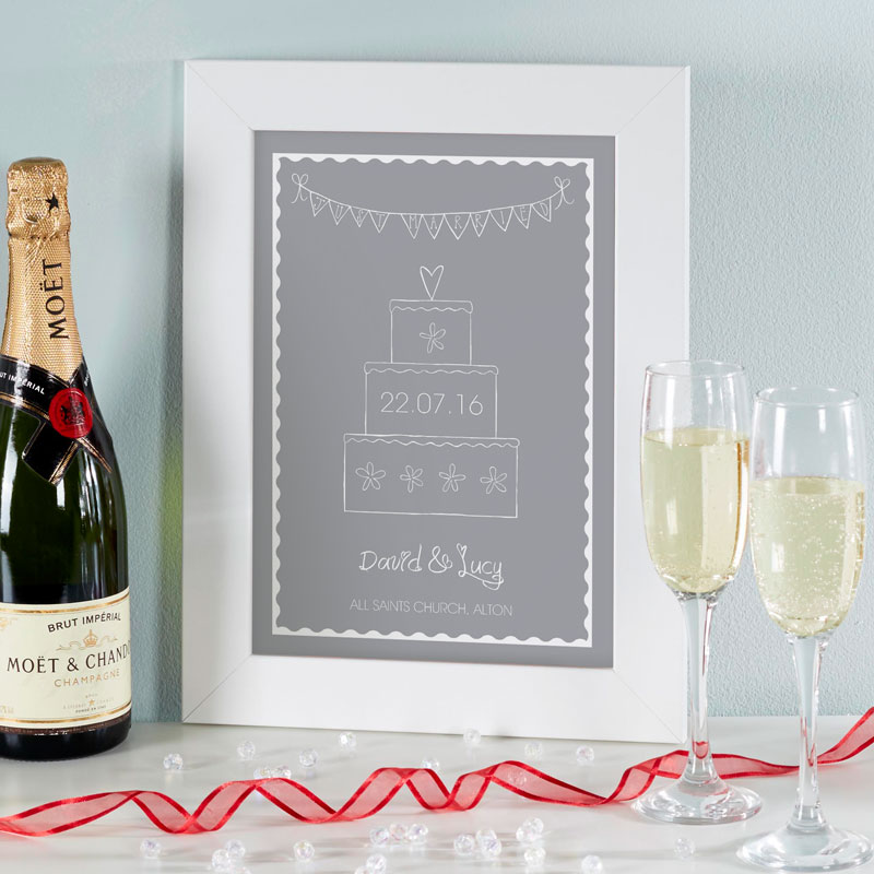 Personalised wedding gift print chatterbox walls negle Images