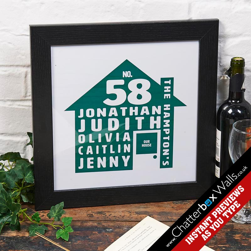 personalised family word art notonthehighstreet print