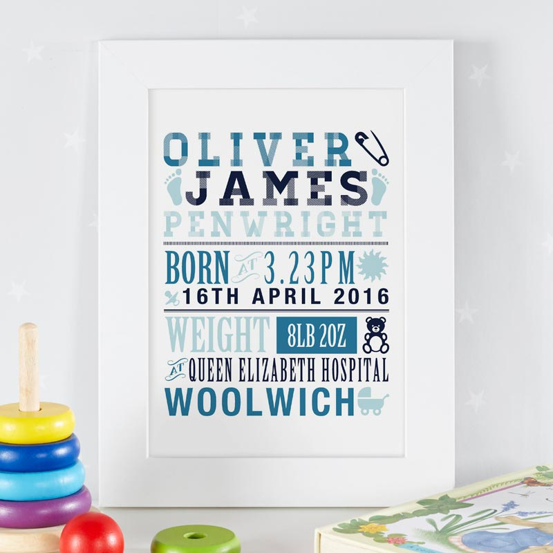 Personalised Name art prints and canvases for children