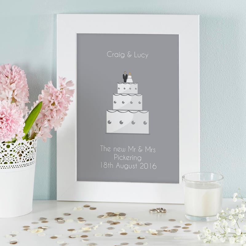 Cake Photo Printing Uk : Personalised Gifts for Valentine s Day Typographic ...