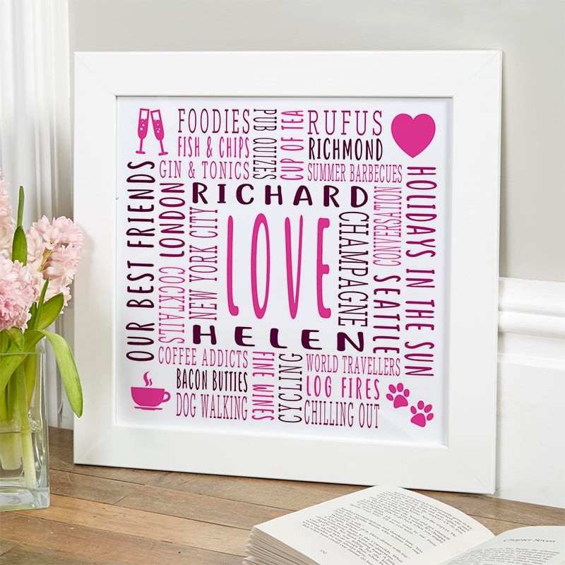 gifts for the person who has everything word picture