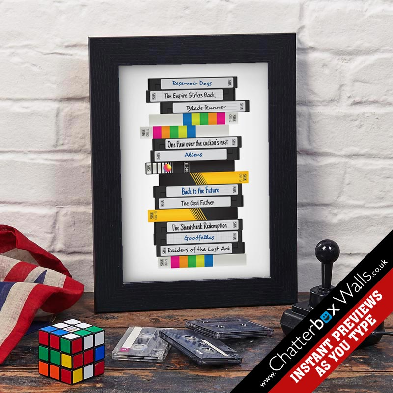 personalised films print video tape